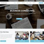 Corporate Gravity Wordpress Theme