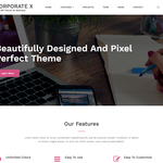 Corporate X WordPress Theme