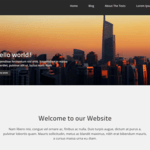 corporate zing Wordpress Theme