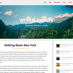 Corporately Blogging Wordpress Theme