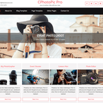 CPhotoPic Lite Wordpress Theme