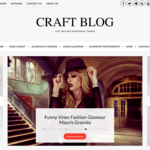Craft Blog Wordpress Theme