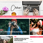 Cream Blog Wordpress Theme