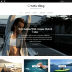 Creativ Blog Wordpress Theme