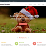 Creativ Kids Education Wordpress Theme