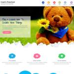 Creativ Preschool WordPress Theme