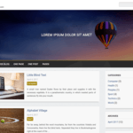 Cude Blog Wordpress Theme