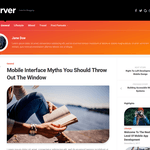 Curver Wordpress Theme