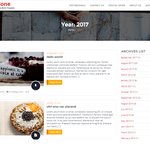 Cyclone Blog Wordpress Theme