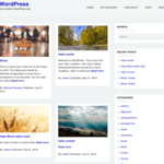 Dart Blog Wordpress Theme
