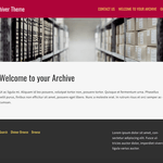 Diviner Archive WordPress Theme