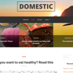 Domestic Wordpress Theme