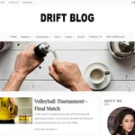 Drift Blog Wordpress Theme
