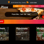 Dro Pizza WordPress Theme