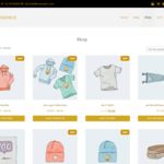 Easy eCommerce Wordpress Theme