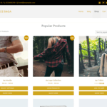 eCommerce Saga Wordpress Theme