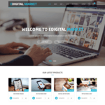 EDigital Market Wordpress Theme