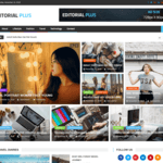 Editorial Plus Wordpress Theme