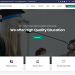 Education Consultr WordPress Theme
