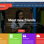 Education Master Wordpress Theme