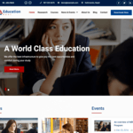 Education Soul WordPress Theme