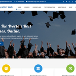 Education Web Wordpress Theme
