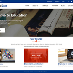 Educational Zone WordPress Theme