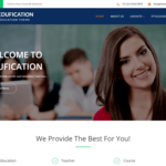 Edufication Wordpress Theme