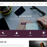 EightLaw Lite Wordpress Theme