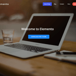 Elemento Wordpress Theme