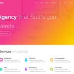 Eleto WordPress Theme