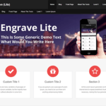 Engrave (Lite) Wordpress Theme