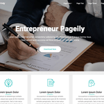 Entrepreneur Pageily Wordpress Theme