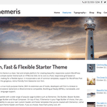 Ephemeris Wordpress Theme