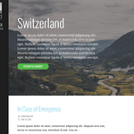 Escapade Wordpress Theme