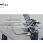 Esfahan WordPress Theme