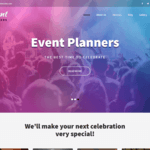 Event Planners Wordpress Theme