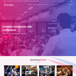 Eventsia WordPress Theme