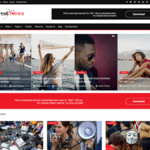 Everest News Wordpress Theme