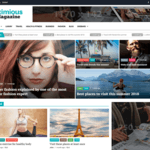 Eximious Magazine Wordpress Theme