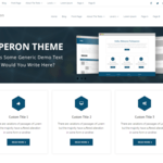 Experon Business Wordpress Theme