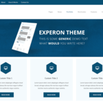 Experon eBusiness WordPress Theme