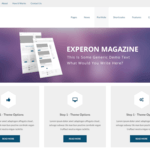 Experon Magazine Wordpress Theme