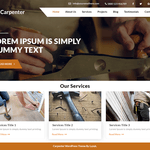 Expert Carpenter Wordpress Theme