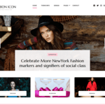 Fashion Icon Wordpress Theme