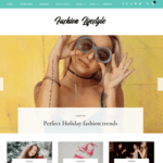 Fashion Lifestyle Wordpress Theme