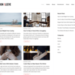 Fashion Sleeve Wordpress Theme