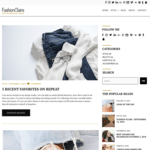 fashionclaire Wordpress Theme