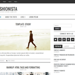 Fashionistas Wordpress Theme
