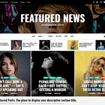 Featured News Wordpress Theme